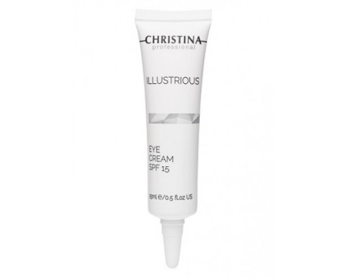 CHRISTINA Illustrious Eye Cream SPF15 15ml