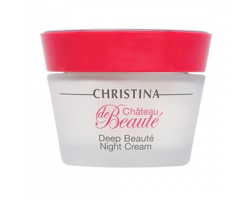 CHRISTINA Chateau de Beaute Deep Beaute Night Cream 50ml