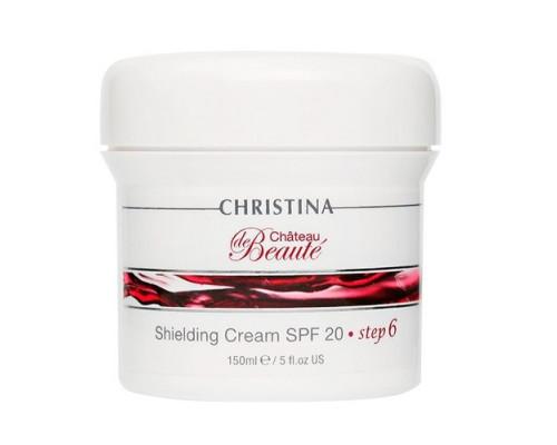 CHRISTINA Chateau De Beaute Shielding Cream SPF 20 (Step 6) 150ml