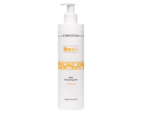 CHRISTINA Fresh AHA Cleansing Gel for all skin types 300ml