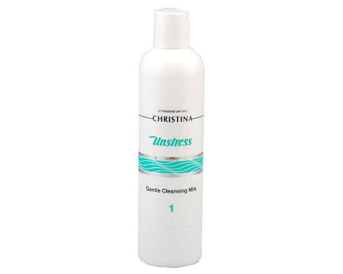 CHRISTINA Unstress Gentle Cleansing Milk (Step 1) 300ml
