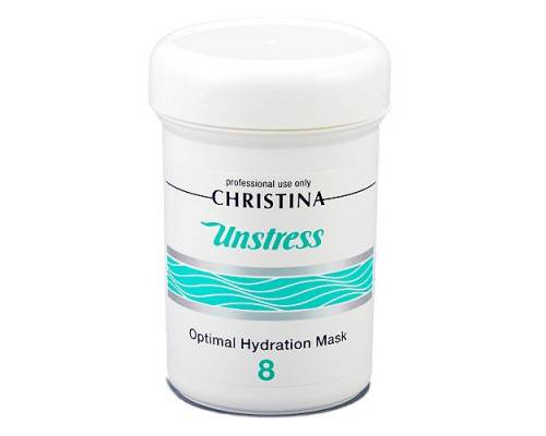 CHRISTINA Unstress Optimal Hydration Mask (Step 8) 250ml
