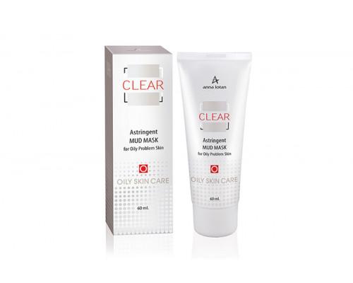 ANNA LOTAN Clear Astringent Mud Mask 60ml