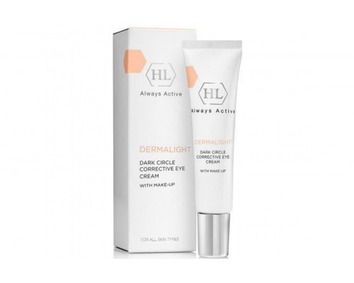 HOLY LAND DermaLight Dark Circle Corrective Eye Cream Make-Up 15ml