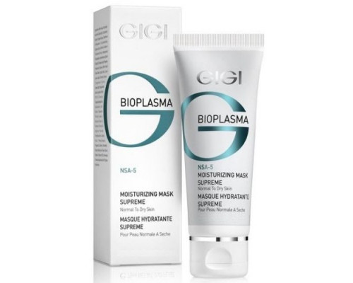 GIGI Bioplasma Moisturizing Mask Supreme for Normal to Dry Skin 200ml