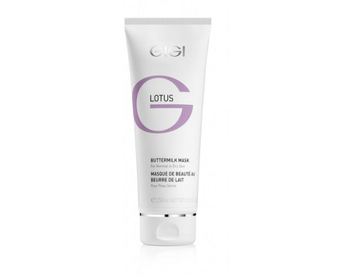 GIGI Lotus Beauty Buttermilk Mask for Normal to Dry Skin 250ml