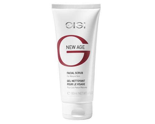GIGI New Age Facial Scrub for Mature Skin 180ml