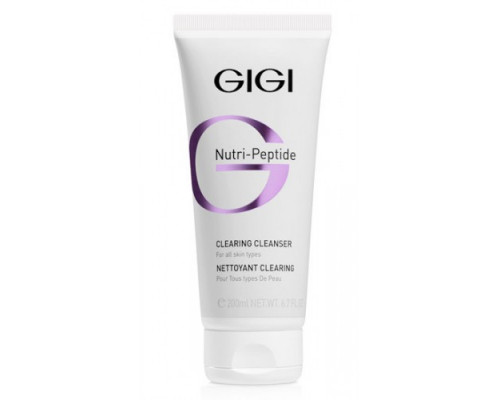 GIGI Nutri Peptide Clearing Cleanser 200ml