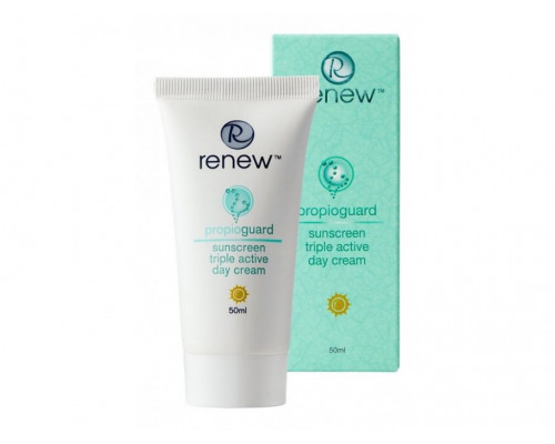 RENEW Propioguard Sunscreen Triple Active Day Cream For Problematic Skin 50ml