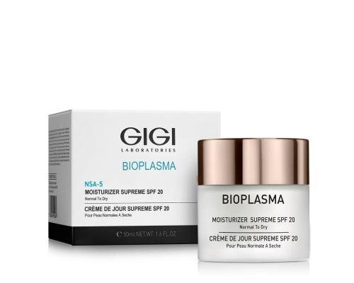 GIGI Bioplasma Moisturizer Supreme SPF 20 for Normal to Dry Skin 50ml